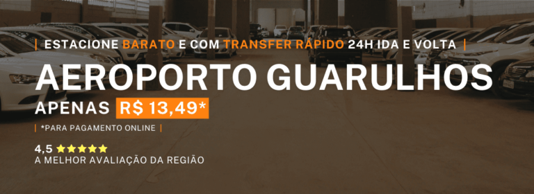 Menor Preço Estacionamento Aeroporto Guarulhos